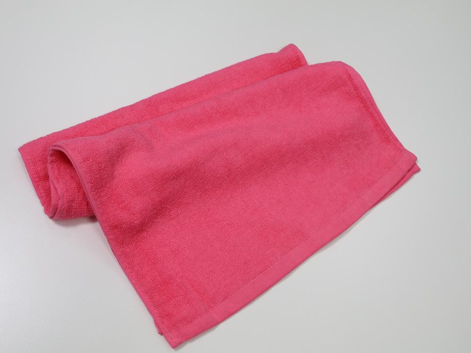 スレン高級フェイスタオル ピンク