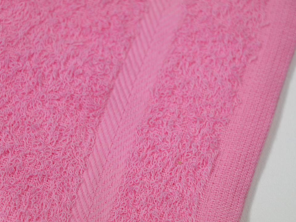 おしぼりタオル ピンク