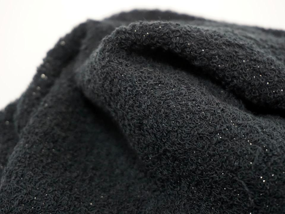 ミューファン®抗菌フェイスタオル 黒