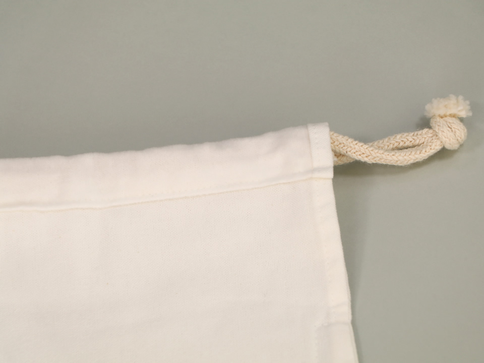だしこし袋 (ネル地:平織・薄手)